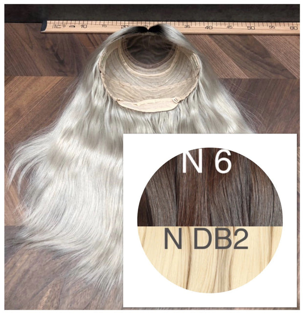 Wigs Ombre 6 and DB2 Color GVA hair_Retail price - GVA hair