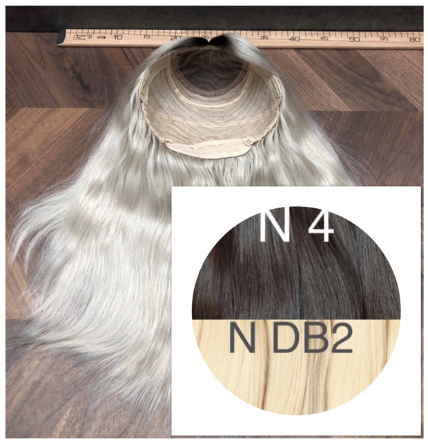 Wigs Ombre 4 and DB2 Color GVA hair - GVA hair
