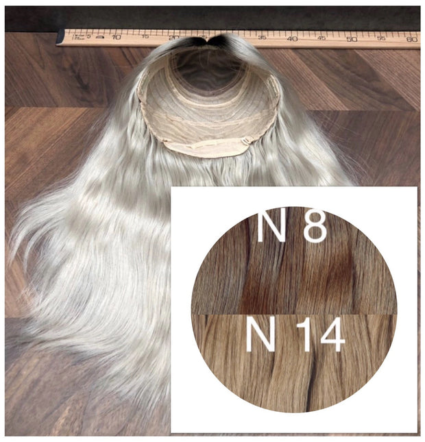 Wigs Ombre 8 and 14 Color GVA hair - GVA hair
