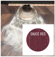 Wigs Color Sauce red GVA hair - GVA hair
