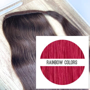 Ponytail Colors RAINBOW COLORS - GVA hair