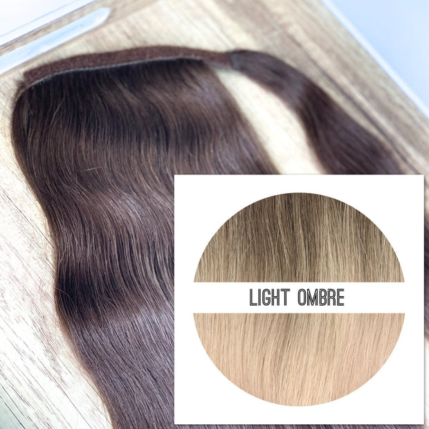 Ponytail Colors LIGHT OMBRE - GVA hair