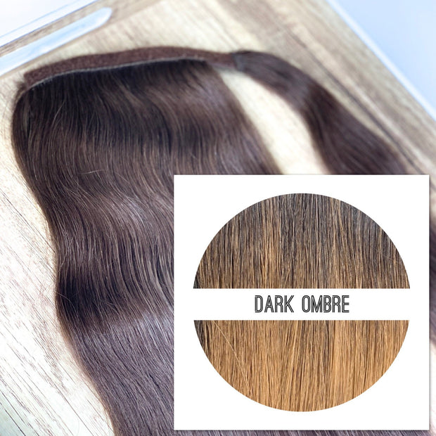 Ponytail  Colors DARK OMBRE - GVA hair