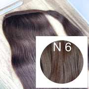 Ponytail Colors BLACK AND DARK BROWN_Retail price - GVA hair