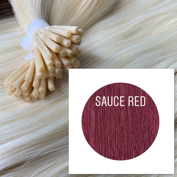 Micro links Color Sauce red GVA hair - GVA hair