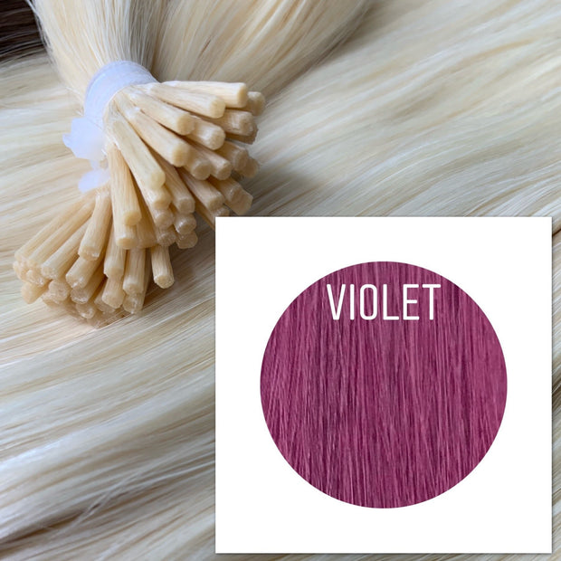 Micro links Color Violet GVA hair - GVA hair