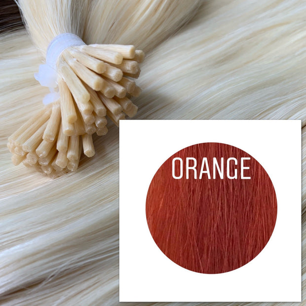 Micro links Color Orange GVA hair_Retail price - GVA hair