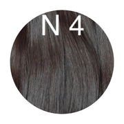 Raw cut hair Color 4 GVA hair_Retail price - GVA hair