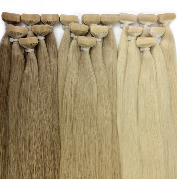 Tapes ombre Color 8 and 14 GVA hair - GVA hair