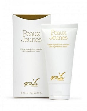 Gernetic Creme Peaux Jeunes, Skin Imperfection Cream, for Acne, oily Skin