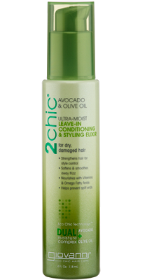 Giovanni Ultra-moist Avocado and Olive Conditioning Leave in Styling Elixir