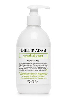 Phillip Adam ACV Fragrance Free Conditioner, Apple Cider and Vinegar