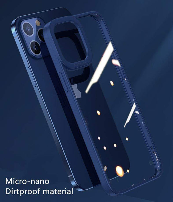 Techypop iPhone Case 2020 New iPhone 12 Clear Case TPU/Nano Ultra Thin+ Anti Scratch+ Dirtproof Full Body Protection