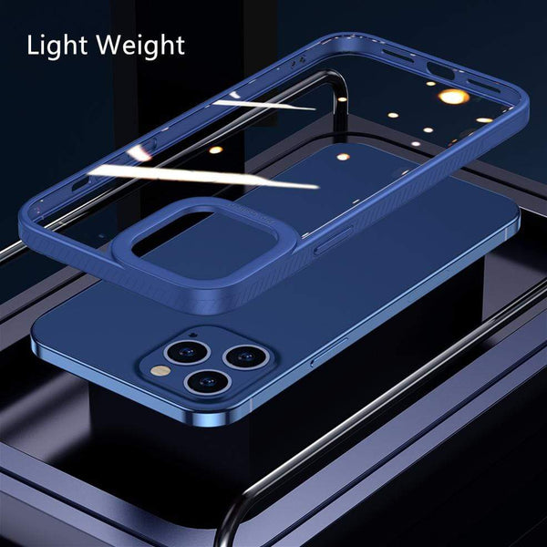Techypop iPhone Case 2020 New iPhone 12 Clear Case TPU+Nano Ultra Thin+ Anti Scratch Full Body Protection