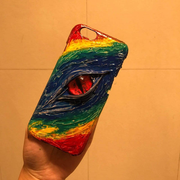 The Color and The Eye Designer iPhone Case For iPhone SE 11 Pro Max X XS Max XR 7 8 Plus - techypopcom