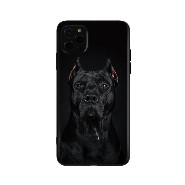 The Doberman Soft Silicone Shockproof Protective Designer iPhone Case For iPhone SE 11 Pro Max X XS Max XR 7 8 Plus - techypopcom