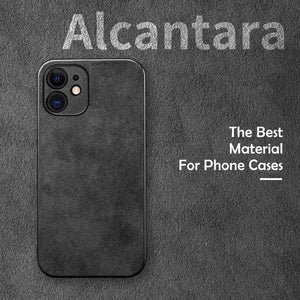 Techypop iPhone Case MASERATI Alcantara Protective Designer iPhone Case For iPhone 12 SE 11 Pro Max X XS Max XR 7 8 Plus