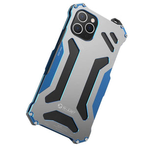 Metal Bumper Military Drop Tested Shockproof Protective Designer iPhone Case For iPhone SE 11 Pro Max X XS Max XR 7 8 Plus - techypopcom