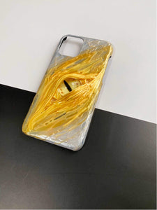 The Yellow Eye Handmade Designer iPhone Case For iPhone SE 11 Pro Max X XS Max XR 7 8 Plus - techypopcom