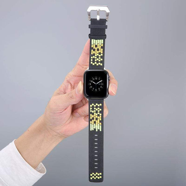 Suede Designer Apple Watch Band Strap For iWatch Series 4/3/2/1 - techypopcom