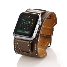 Load image into Gallery viewer, MORE COLORS Genuine Leather Durable Compatible With Apple Watch Band Strap For iWatch Series 4/3/2/1 - Techypop.com