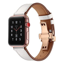 Load image into Gallery viewer, Luxury Leather Designer Apple Watch Band Strap For iWatch Series 4/3/2/1 - techypopcom