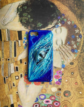 Load image into Gallery viewer, Aqua Devil Eyes Designer iPhone Case For iPhone SE 11 Pro Max X XS Max XR 7 8 Plus - techypopcom