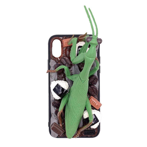 techypopcom iPhone Case iPhone SE (2nd Gen) The Green Mantis Handmade Designer iPhone Case For iPhone SE 11 Pro Max X XS Max XR 7 8 Plus