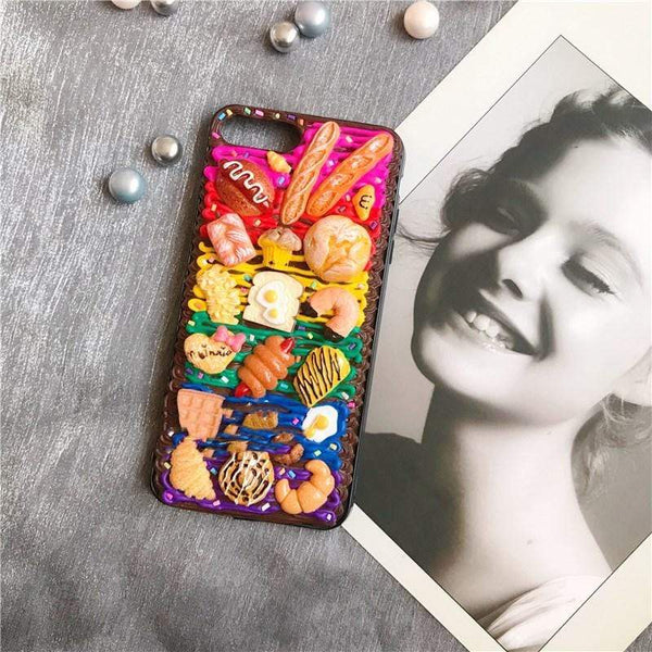 techypopcom iPhone Case iPhone SE (2nd Gen) The Pastry Club Handmade Designer iPhone Case For iPhone SE 11 Pro Max X XS Max XR 7 8 Plus