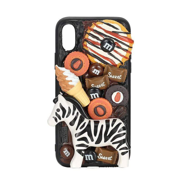 techypopcom iPhone Case iPhone SE (2nd Gen) The Zebra Handmade Designer iPhone Case For iPhone SE 11 Pro Max X XS Max XR 7 8 Plus