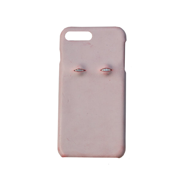 The Two Eyes Leather Designer iPhone Case For iPhone SE 11 Pro Max X XS Max XR 7 8 Plus - techypopcom