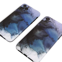 Load image into Gallery viewer, Smoke Paint Soft Silicone Shockproof Protective Designer iPhone Case For iPhone SE 11 Pro Max X XS Max XR 7 8 Plus - techypopcom