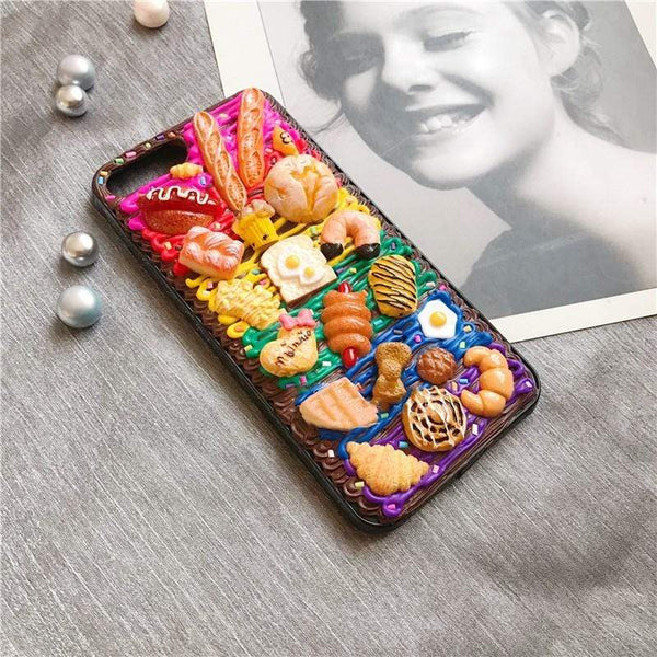 techypopcom iPhone Case The Pastry Club Handmade Designer iPhone Case For iPhone SE 11 Pro Max X XS Max XR 7 8 Plus