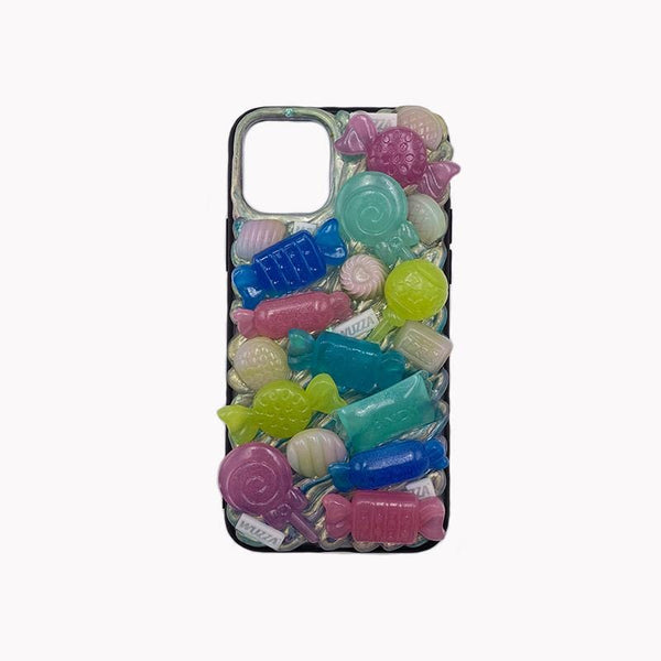 techypopcom The Candy Shop Handmade Designer iPhone Case For iPhone SE 11 Pro Max X XS Max XR 7 8 Plus