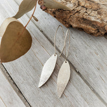 Load image into Gallery viewer, Gum Leaf Earrings | Sterling Silver