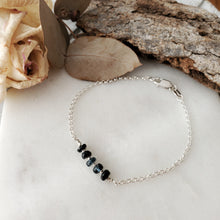 Load image into Gallery viewer, Birthstone Bracelet | Sapphire | Sterling Silver