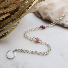 Load image into Gallery viewer, Star Necklace | Sapphire | Sterling Silver