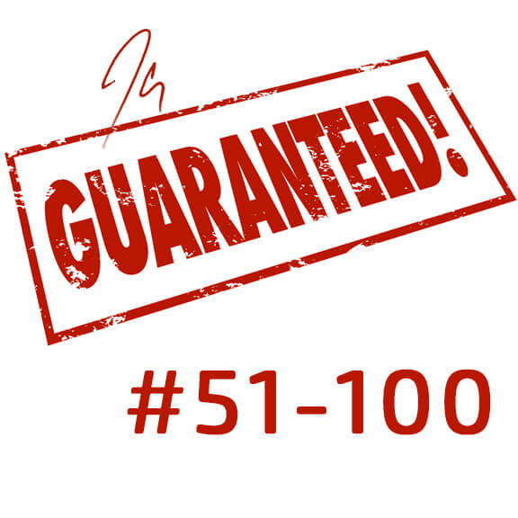 Limited Edition Guarantee (#51-100)