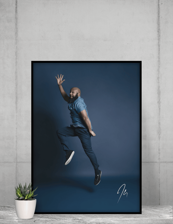 JClay Jumping Rapper Poster (Special Edition) (24 x 36)
