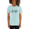 Le Fly - Let Go Unisex T-Shirt-Ice Blue-XS-JClay Cares