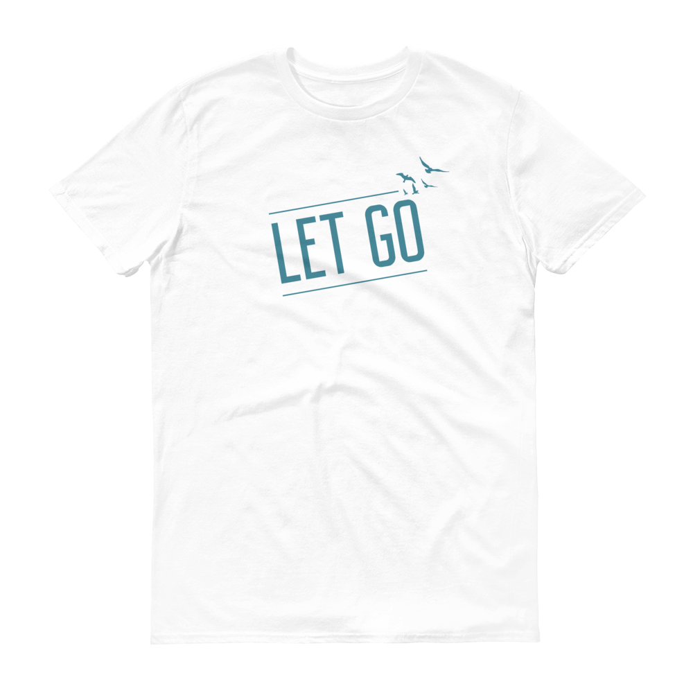 Focus - Let Go Unisex T-Shirt-White-S-JClay Cares