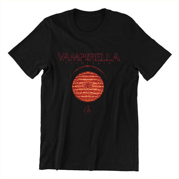 Vampirella Freestyle Cover Tee