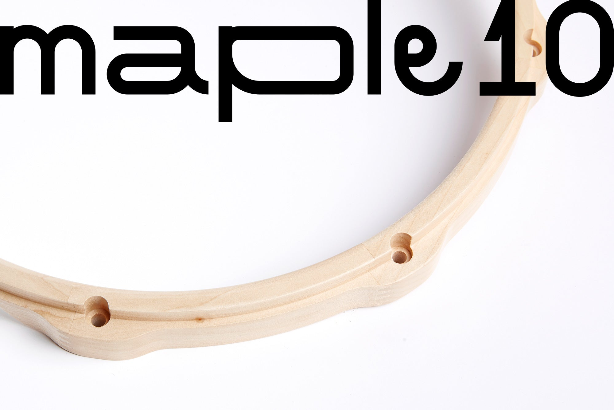 Maple Wooden Snare Drum Hoop 14'x10 - SIGU drums
