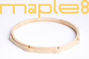 Maple Wooden Snare Drum Hoop 14'x8 - SIGU drums