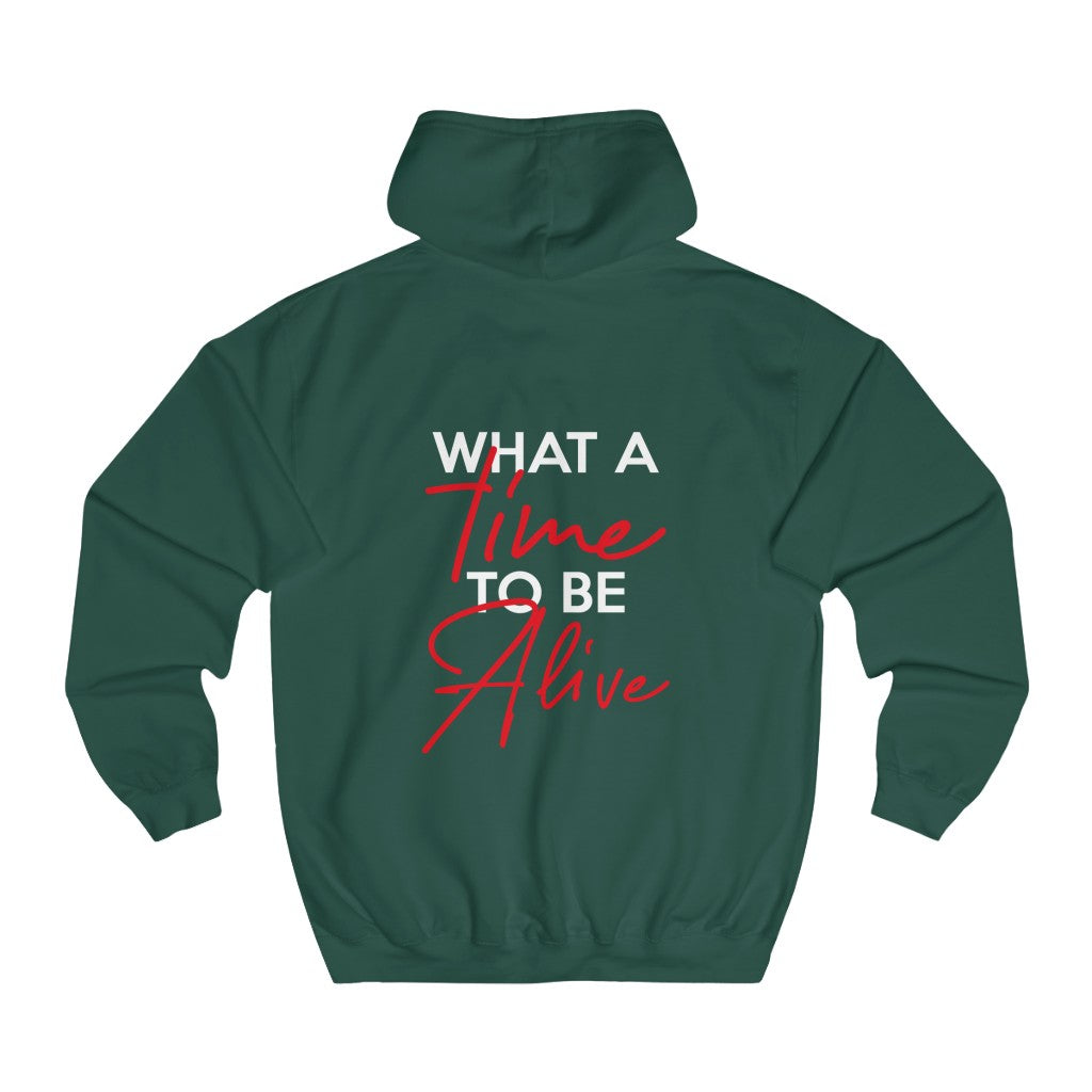 What A Time - Unisex College Hoodie