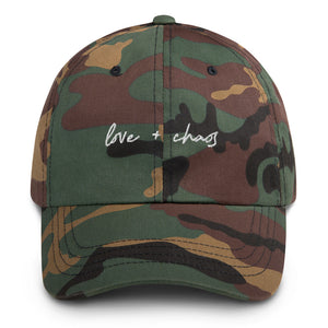 Love + Chaos Dad Hat
