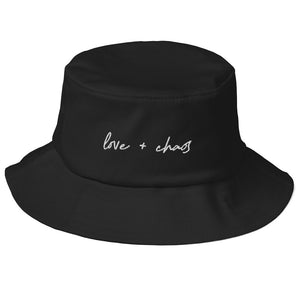 Love + Chaos Old School Bucket Hat tbarchive.myshopify.com
