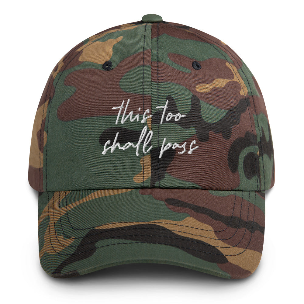 This Too Shall Pass Dad hat