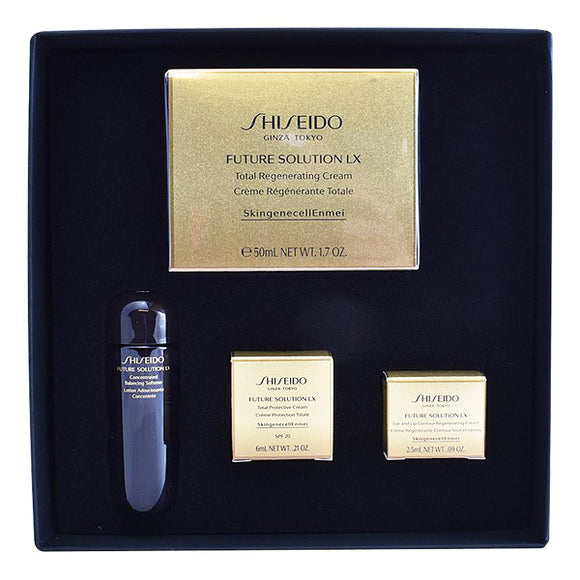 Set mit Damenkosmetik Future Solution Lx Shiseido (4 pcs)