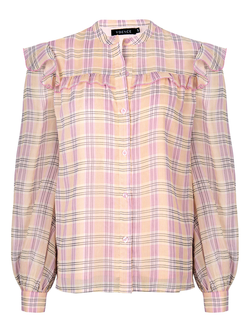 Blouse Manou Pink Check